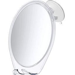 HoneyBull Shower Mirror Fogless for Shaving - with Suction, Razor Holder for Shower & Swivel, Mir... | Amazon (US)
