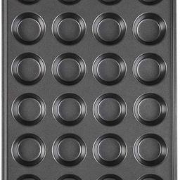 Wilton Perfect Results Premium Non-Stick Mini Muffin and Cupcake Pan, 24-Cup | Amazon (US)