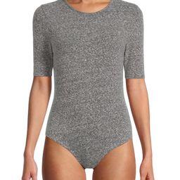 Time and Tru Women's Crewneck Bodysuit - Walmart.com | Walmart (US)