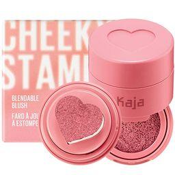 KAJA Cheeky Stamp | Blendable Blush | 01 Coy - dusty rose | Cruelty-free, Vegan, Paraben-free, Su... | Amazon (US)