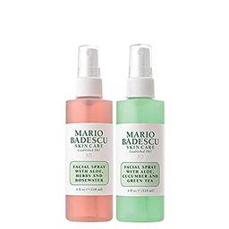 Mario Badescu Facial Spray Herbs/Rosewater and Cucumber/Green Tea (Pack of 2) | Amazon (US)