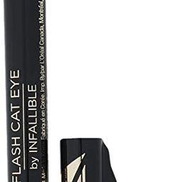 L'Oreal Paris Makeup Infallible Flash Cat Eye Waterproof Liquid Eyeliner, Black | Amazon (US)