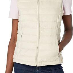 Amazon Essentials Women's Lightweight Water-Resistant Packable Down Vest   Amazon (US)