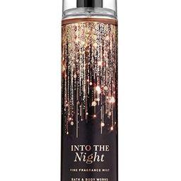 Bath and Body Works INTO THE NIGHT Fine Fragrance Mist 8 Fluid Ounce (2019 Limited Edition) | Amazon (US)
