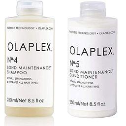 Olaplex No.5 Bond Maintenance Conditioner, 8.5 Fl Oz with Olaplex No.4 Bond Maintenance Shampoo, ...   Amazon (US)