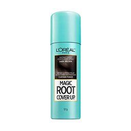 L'Oreal Paris Magic Root Cover Up Gray Concealer Spray Dark Brown 2 oz.   Amazon (US)