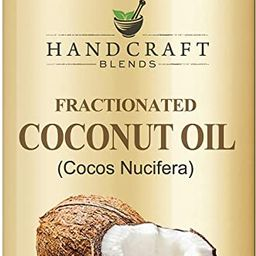 Fractionated Coconut Oil - 100% Pure & Natural Premium Grade Coconut Carrier Oil for Essential Oi...   Amazon (US)