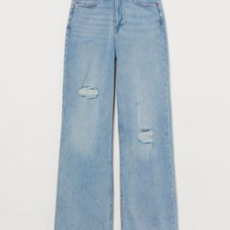 Wide High Jeans | H&M (US)