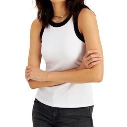 INC International Concepts Colorblocked Tank Top, Created for Macy's & Reviews - Tops - Women - M... | Macys (US)