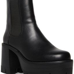 Madden Girl Gotcha Mega-Lug Platform Chelsea Booties & Reviews - Boots - Shoes - Macy's | Macys (US)