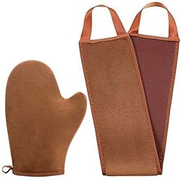 STEUGO 2 in 1 Self Tanning Mitt Applicator kit - Self Tanner Mitt and Back Lotion Applicators for... | Amazon (US)