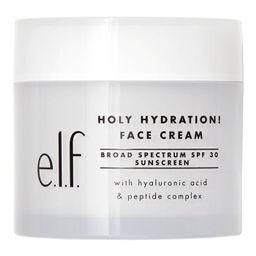 e.l.f. Holy Hydration! Broad Spectrum Sunscreen Face Cream SPF 30 - 1.8oz | Target