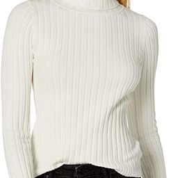 The Drop Women's Amy Fitted Turtleneck Ribbed Sweater   Amazon (US)