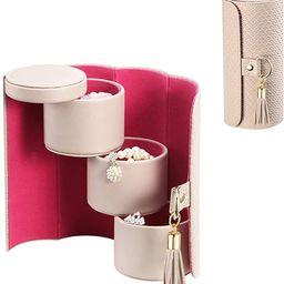 Vlando Viaggio Small Jewelry Case, Travel Accessory Storage Box   Amazon (US)