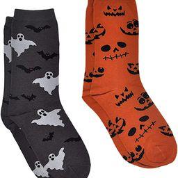 360 Threads Women Novelty Socks Crew 2 Pair Set Prints: Halloween Best Mom Sushi | Amazon (US)