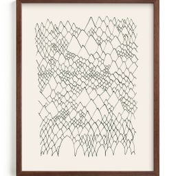 """""""Nature, you and me N.4 II"""" - Drawing Limited Edition Art Print by Catilustre. 