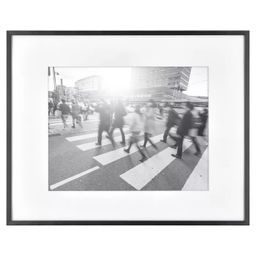 Thin Gallery Matted Photo Frame Black - Project 62™ | Target