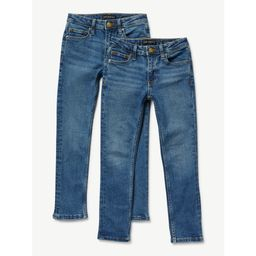Free Assembly Boys Slim Jeans, 2-Pack, Sizes 4-18   Walmart (US)