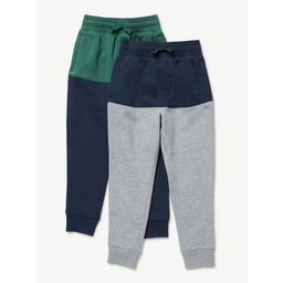 Free Assembly Boys Color Block Joggers, 2-Pack, Sizes 4-18   Walmart (US)