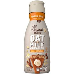 Coffee mate Natural Bliss Plant-Based Pumpkin Spice OatMilk Coffee Creamer - 1qt | Target