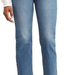Wedgie High Waist Crop Straight Leg Jeans   Nordstrom