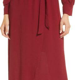 Long Sleeve Faux Wrap Dress   Nordstrom   Nordstrom