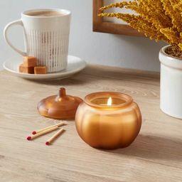 Mini Pumpkin Caramel Latte Honey Orange Candle - Threshold™   Target