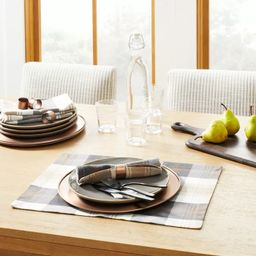 Fall Tartan Plaid Placemat - Hearth & Hand™ with Magnolia   Target
