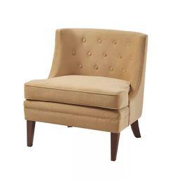 Halleck Accent Chair Gold - Martha Stewart | Target