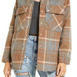 Plaid Flannel Shirt Jacket | Nordstrom | Nordstrom