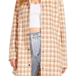 BB Dakota Eldridge Plaid Shirt Jacket | Nordstrom | Nordstrom