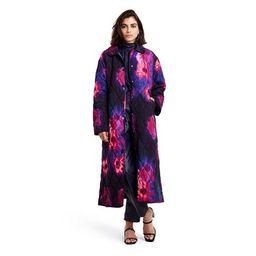 Women's Floral Print Quilted Jacket - Rachel Comey x Target Black | Target
