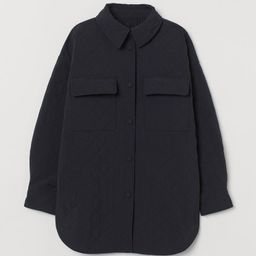Quilted Shirt Jacket | H&M (US)
