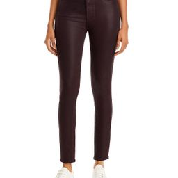 PAIGE                                                                Hoxton Coated Skinny Ankle J...   Bloomingdale's (US)