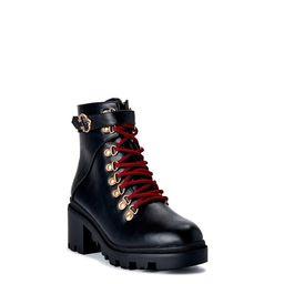 C. Wonder Women's Laney Lug Sole Lace Up Boots | Walmart (US)
