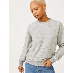Free Assembly Women's Classic Raglan Sweatshirt | Walmart (US)