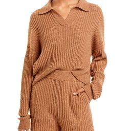 rag & bone                                                                Maxine Ribbed Knit Polo...   Bloomingdale's (US)