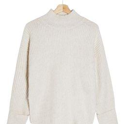 Mock Neck Crop Sweater | Nordstrom