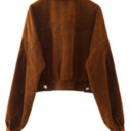 'Kaye' Corduroy Buttoned Jacket | Goodnight Macaroon
