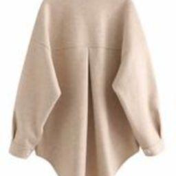 'Brandi' Thick Buttoned Shacket | Goodnight Macaroon