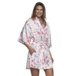 Women's Jezebel Satin Kimono Robe   Kohl's