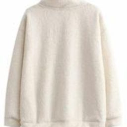'Michelle' Zip-up Fleece Pullover | Goodnight Macaroon