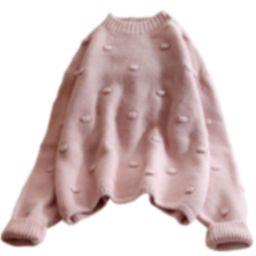 'Ayna' Pom Pom Knit Sweater (5 Colors) | Goodnight Macaroon