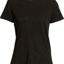Schoolboy Cotton Crewneck T-Shirt, Fall Outfits, Neutral Fall Outfit, Black TShirt, Fall Style | Nordstrom