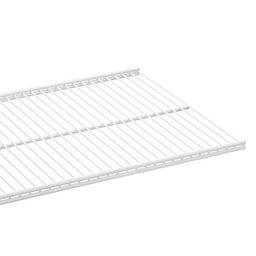 "20"" x 18"" Elfa Ventilated Shelf White   The Container Store"