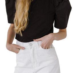 Mini Ruffle Puff Sleeve T-Shirt | Nordstrom | Nordstrom
