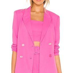 Parisienne Blazer in Pink Pop | Revolve Clothing (Global)