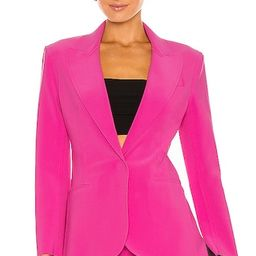 x REVOLVE Single Breasted Jacket in Orchid Pink | Revolve Clothing (Global)