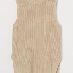 Rib-knit Sweater Vest   H&M (US)