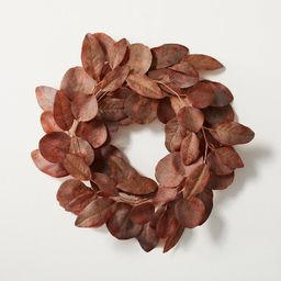 Faux Rusted Eucalyptus Plant Wreath - Hearth & Hand™ with Magnolia   Target